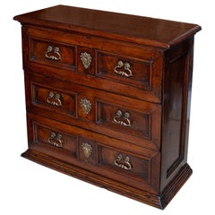 Chest of Drawers Commode Petite Walnut Italian