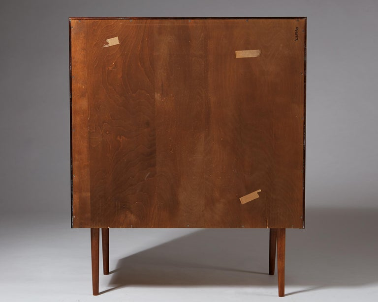 Mid-20th Century Chest of Drawers Designed by Arne Vodder, Denmark, 1960s For Sale