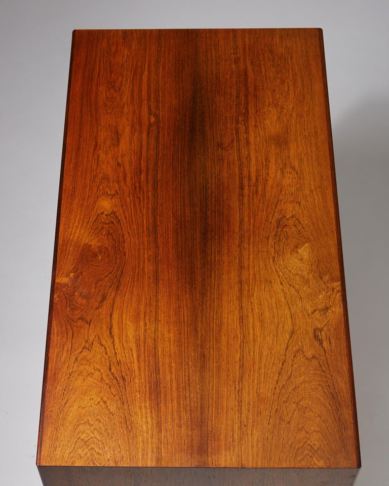 Rosewood Chest of Drawers Designed by Arne Vodder, Denmark, 1960s For Sale