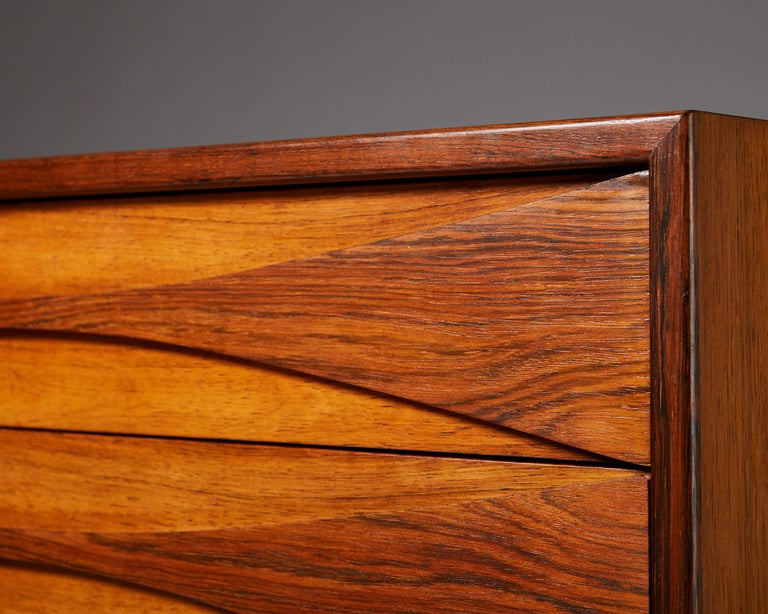 Chest of Drawers Designed by Arne Vodder, Denmark, 1960s For Sale 2