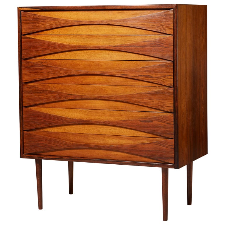 Chest of Drawers Designed by Arne Vodder, Denmark, 1960s For Sale