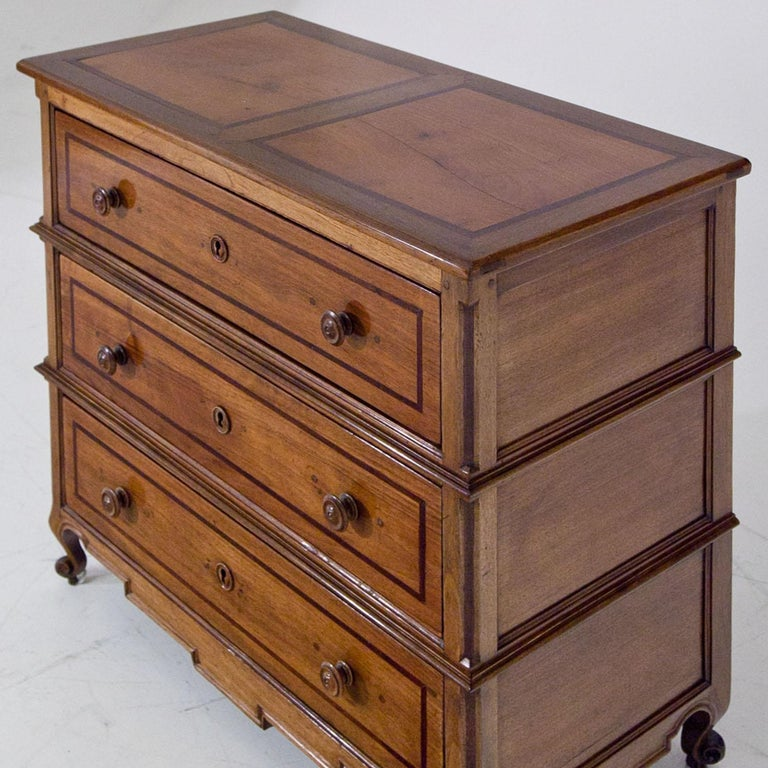 French Chest of Drawers, France 19th Century For Sale
