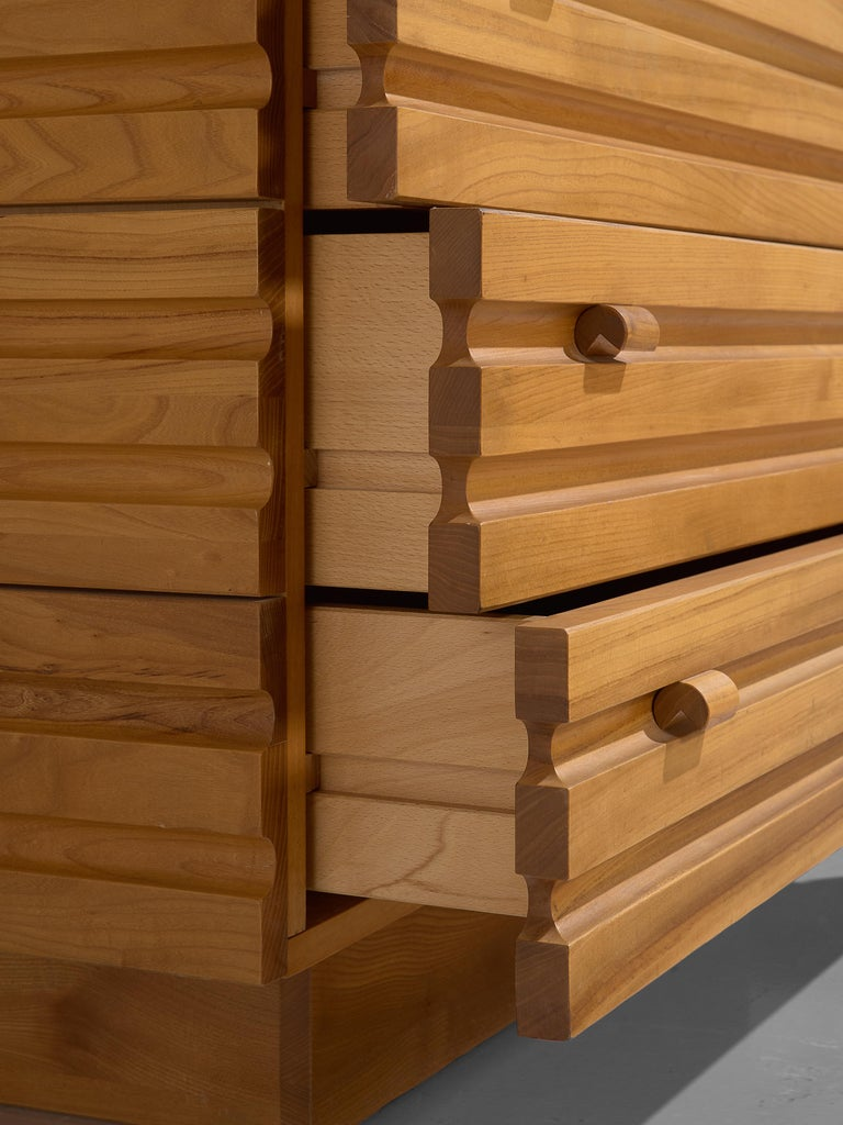 Chest of Drawers in Elm by Maison Regain For Sale 3