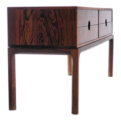 Chest of Drawers in Rosewood by Kai Kristiansen for Aksel Kjersgaard, Denmark