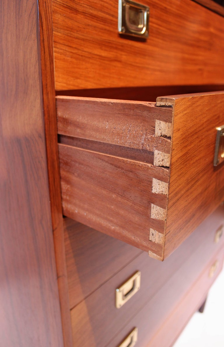 Chest of Drawers in Rosewood by Reoval, Danish Design, 1960s For Sale 6