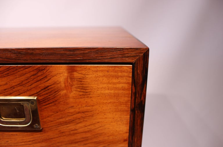 Chest of Drawers in Rosewood by Reoval, Danish Design, 1960s For Sale 7