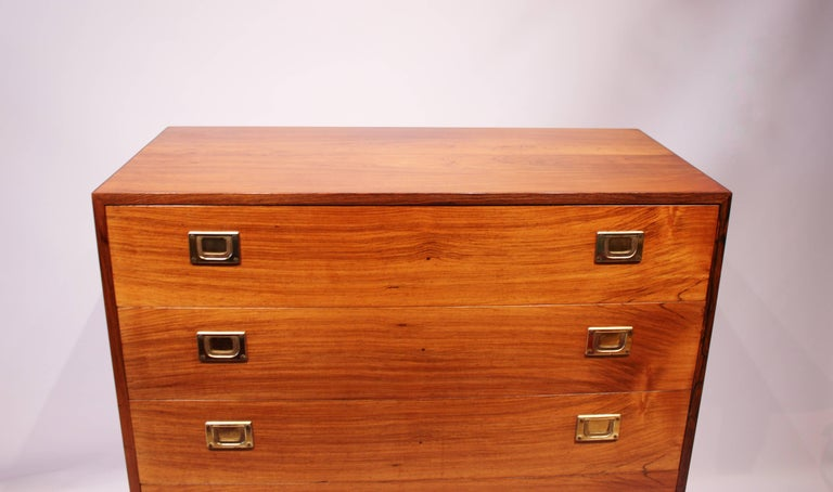 Chest of Drawers in Rosewood by Reoval, Danish Design, 1960s In Good Condition For Sale In Lejre, DK