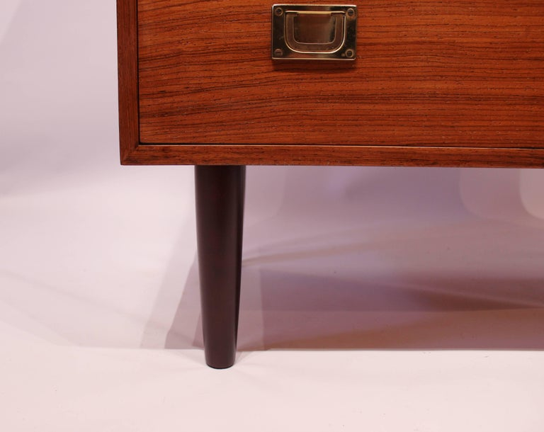 Mid-20th Century Chest of Drawers in Rosewood by Reoval, Danish Design, 1960s For Sale