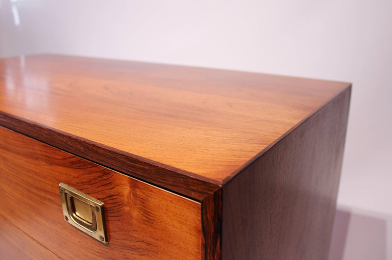 Chest of Drawers in Rosewood by Reoval, Danish Design, 1960s For Sale 1