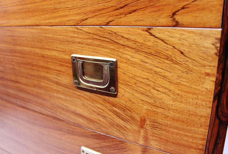 Chest of Drawers in Rosewood by Reoval, Danish Design, 1960s For Sale 2