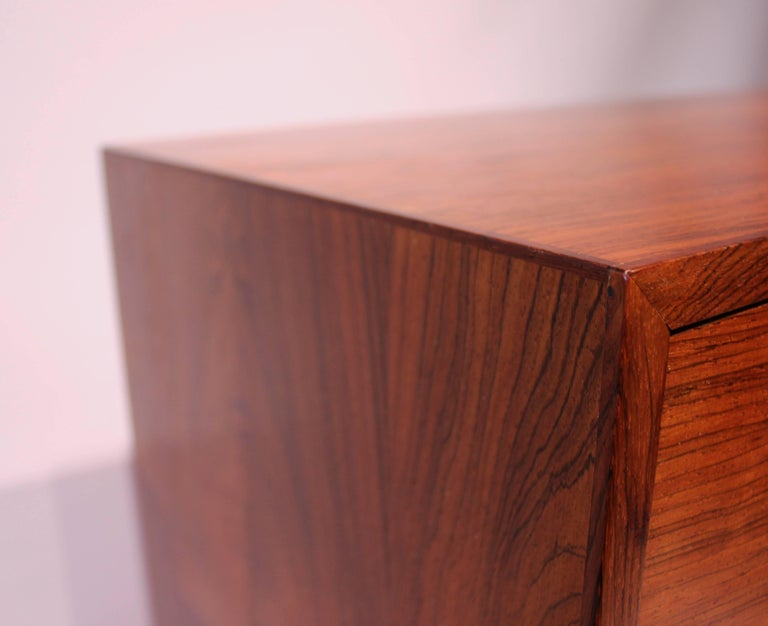 Chest of Drawers in Rosewood by Reoval, Danish Design, 1960s For Sale 3