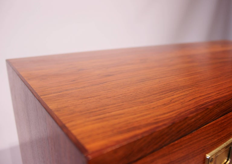 Chest of Drawers in Rosewood by Reoval, Danish Design, 1960s For Sale 4