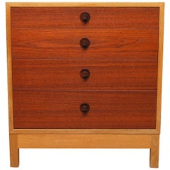 Chest of Drawers in Teak and Oak by Børge Mogensen, 1960s