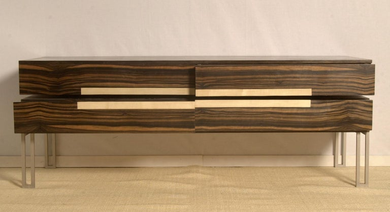 Lacquered Chest of Drawers