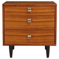 Chest of Drawers Retro Scandinavian Design Rosewood, 1960-1970