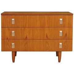 Chest Of Drawers Teak Danish Design 1960-1970 Retro