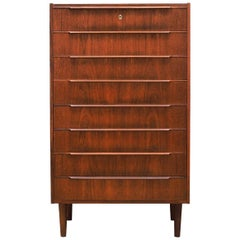 Chest of Drawers Teak, Danish Design, 1960s, Producer Daells