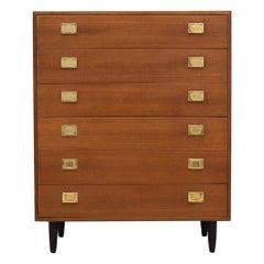 Chest of Drawers Teak Vintage, 1960-1970
