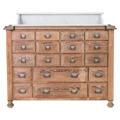 Chest of Drawers with White Marble Top