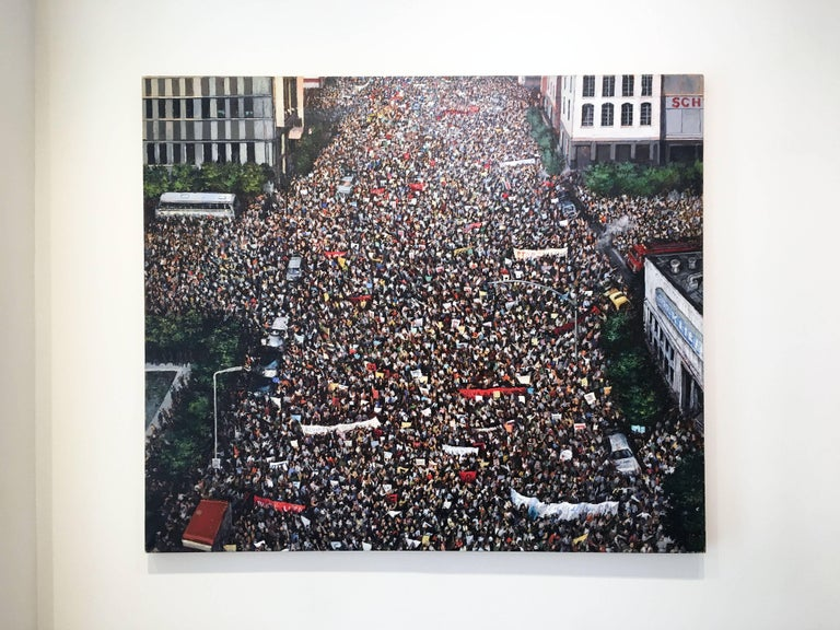 Dissent - Painting by Chester Arnold