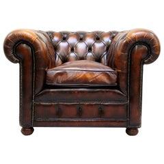 Chesterfield Armlehnstuhl Antiker Stuhl