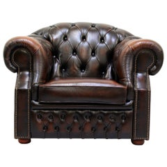 Chesterfield Armchair Wing Chair Antique Chair