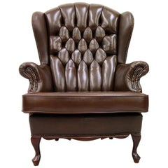 Chesterfield Chippendale Armchair Club Chair Chairs Baroque Antique