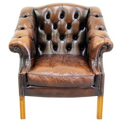 Chesterfield Chippendale Wing Chair Armchair Baroque Antique