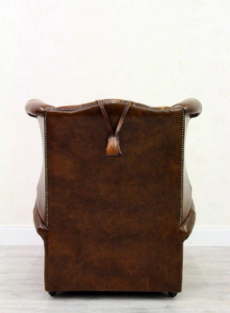 Chesterfield Fernsehsessel Ohrensessel Chippendale Sessel Antik For