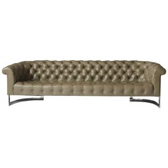 Chesterfield Sofa by Milo Baughman for Thayer Coggin