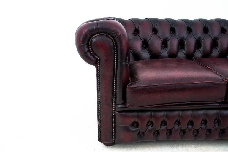 Chesterfield Sofa, England, circa 1930 For Sale 2