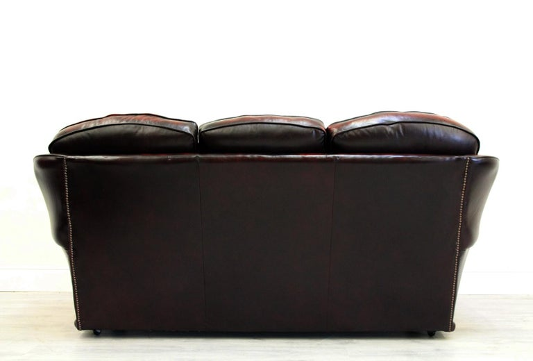 Chesterfield Sofa Sessel Leder Antik Fernsehsessel Englisch Vinta At