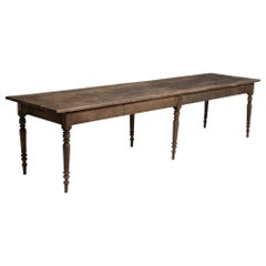 Chestnut Dining Table, England, circa 1840