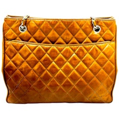 Chestnut Vintage Chanel Handbag