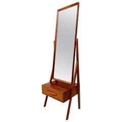 Cheval Floor Mirror by Arne Vodder