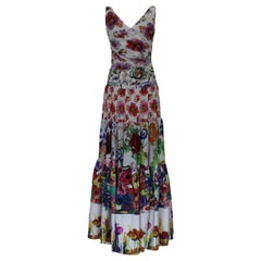 Chiara Boni Floral Long Dress  IT 42