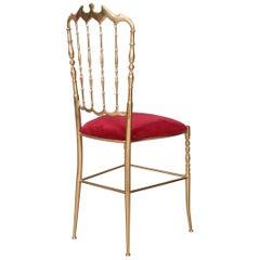 Chiavari Brass Chair