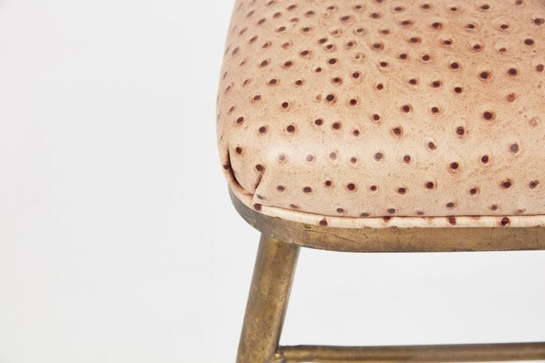 Chiavari Brass Compass Chairs, 4x For Sale 3