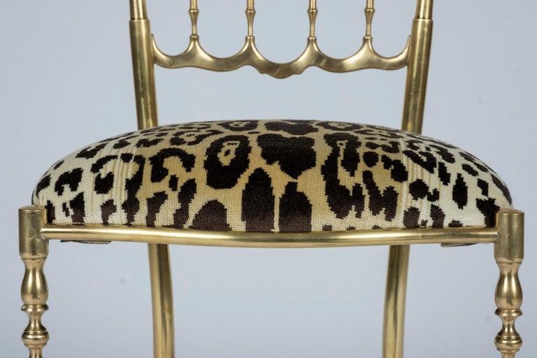 Chiavari Leopord Velvet Chair 1