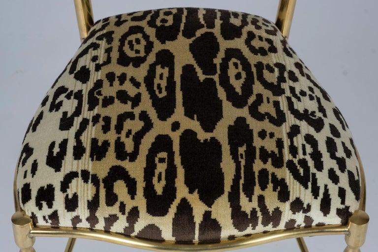 Chiavari Leopord Velvet Chair 2
