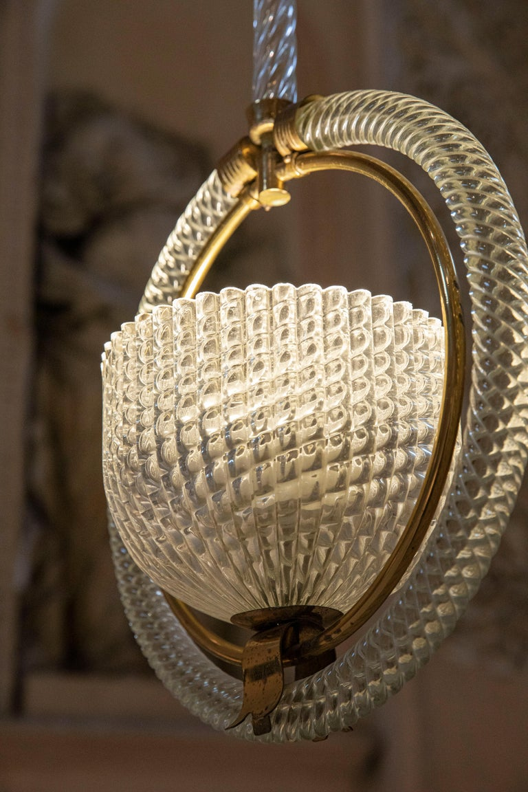 Chic Barovier Pendant For Sale 1