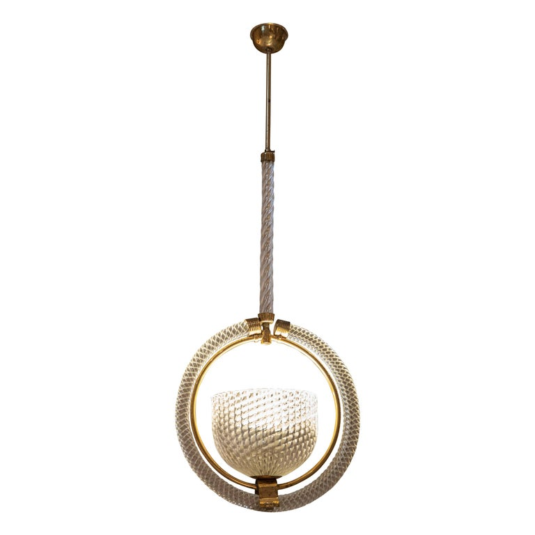 Chic Barovier Pendant For Sale