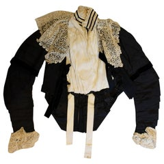 Chic but Small Vintage Victorian Jacket