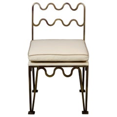 Chic 'Méandre' Side Chair by Design Frères