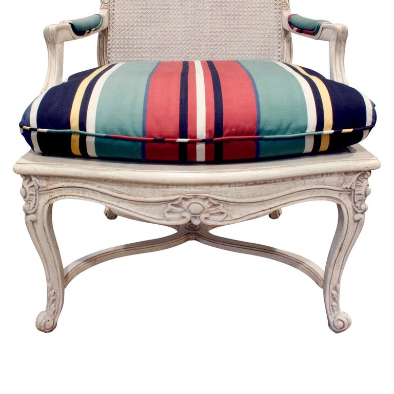 Chic Pair of Lacquered Fauteuils, 1960s In Excellent Condition For Sale In New York, NY