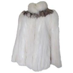 Chic Saga Fox Fur Jacket