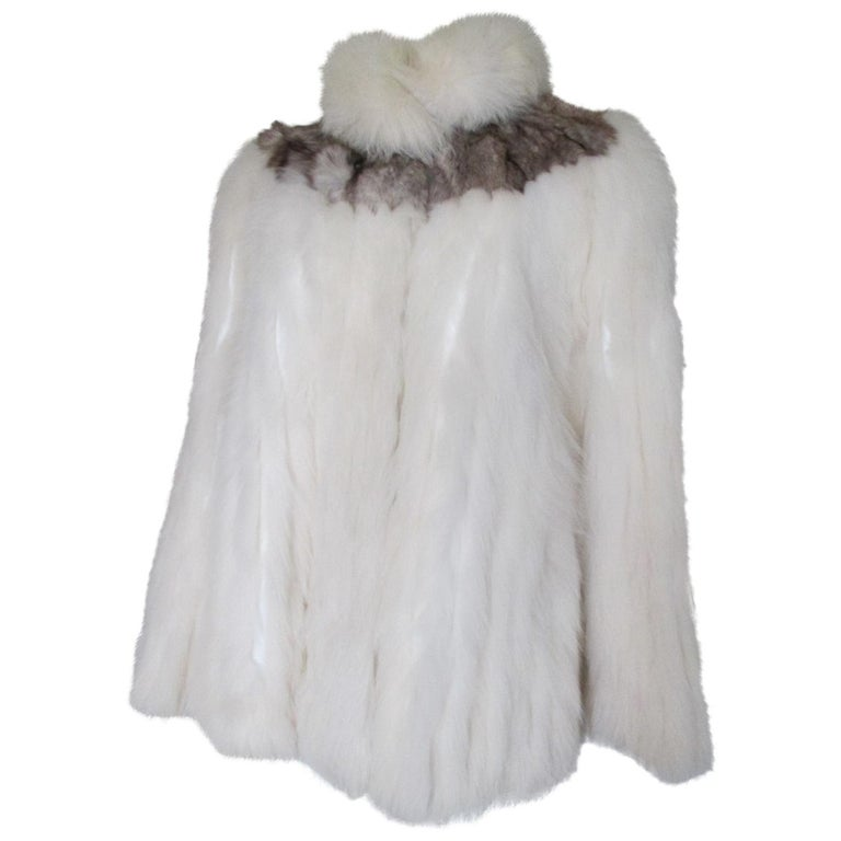 Chic Saga Fox Fur Jacket For Sale