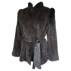Chic Saga Mink Fur Jacket