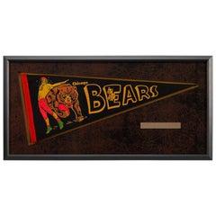 Chicago Bears Football Pennant