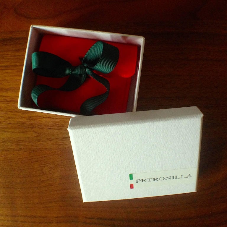 Chick White Diamond 18K Gold Pearl Drop Earrings For Sale 8